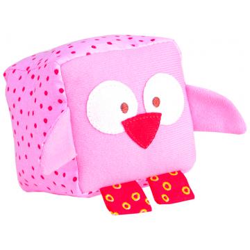 Игрушка МякишиИгрушка Мякиши кубик Зоо Совенок 260, возраст с 6 мес.<br><br>Возраст: с 6 мес.