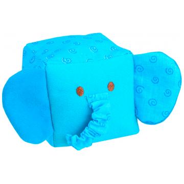 Игрушка МякишиИгрушка Мякиши кубик Зоо Слоник 257, возраст с 6 мес.<br><br>Возраст: с 6 мес.