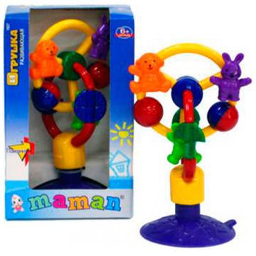 Игрушка MamanИгрушка Maman каруселька на присоске 1027<br>