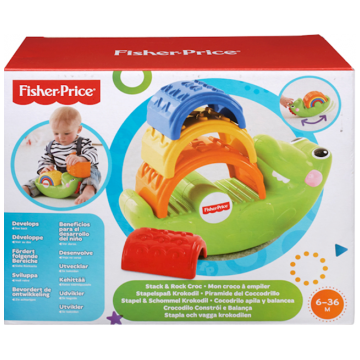 Пирамидка Fisher PriceПирамидка Fisher Price Крокодильчик CDC48<br>