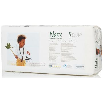Подгузники NatyПодгузники Naty размер 5 (11-25 кг) 42 шт, в упаковке 42 шт., размер XL (BIG)<br><br>Штук в упаковке: 42<br>Размер: XL (BIG)