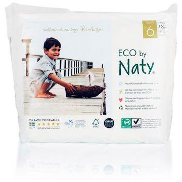 Трусики NatyТрусики Naty размер 6 (16+ кг) 18 шт, в упаковке 18 шт., размер XXL<br><br>Штук в упаковке: 18<br>Размер: XXL