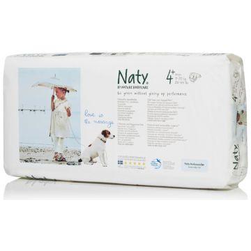 Подгузники NatyПодгузники Naty размер 4+ (9-20 кг) 44 шт, в упаковке 44 шт., размер L<br><br>Штук в упаковке: 44<br>Размер: L