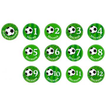 Набор наклеeк для мальчиков Stick n ClickНабор наклеeк для мальчиков Stick n Click «Футбол»<br>