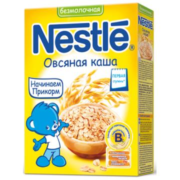 Каша NestleКаша Nestle овсяная безмолочная 1 ступень 200 г, возраст 2 ступень (3-6 мес). Проконсультируйтесь со специалистом. Для детей с 0 месяцев<br><br>Возраст: 2 ступень (3-6 мес)