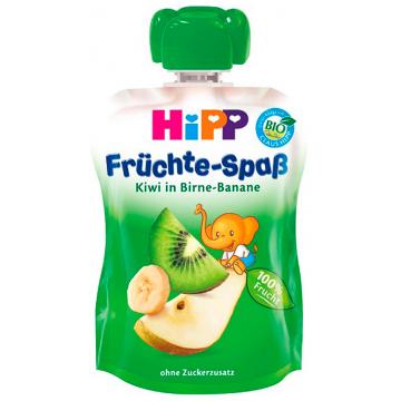 Детское пюре Детское питание HippДетское пюре Hipp груша банан киви с 8 мес. 90 г, возраст 3 ступень (6-12 мес). Проконсультируйтесь со специалистом. Для детей с 8 мес.<br><br>Возраст: 3 ступень (6-12 мес)