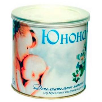 Молочная смесь ЮнонаМолочная смесь Юнона Сухая инстантная 400 г, возраст для мамы<br><br>Возраст: для мамы