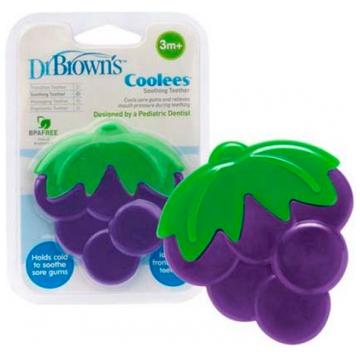 Прорезыватель охлаждающий Dr.BrownsПрорезыватель охлаждающий Dr.Browns Coolees виноград с 3 мес.<br>