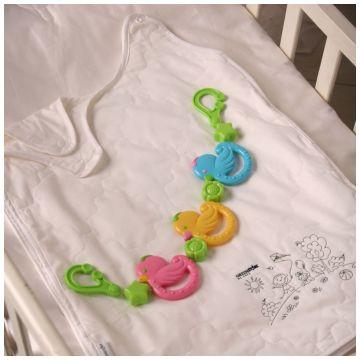 Конверт для сна GreenstorkКонверт для сна Greenstork Легкий Хлопок и Шелк 50*70 см, размер для новорожденных<br><br>Размер: для новорожденных