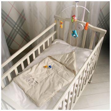 Конверт для сна GreenstorkКонверт для сна Greenstork Хлопок и Шелк с капюшоном 40*80 см, размер для новорожденных<br><br>Размер: для новорожденных