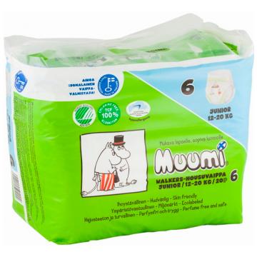Трусики MuumiТрусики Muumi Junior (12-20 кг) 20 шт, в упаковке 20 шт., размер XL (BIG)<br><br>Штук в упаковке: 20<br>Размер: XL (BIG)