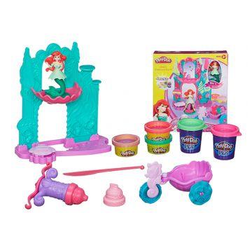 Игровой набор Play-dohИгровой набор Play-doh Замок и карета Ариэль A7396<br>