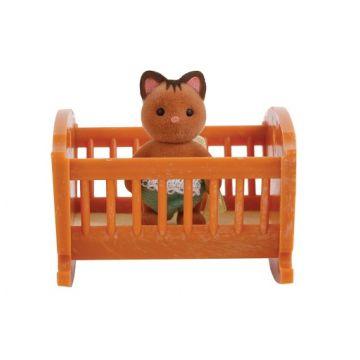 Игрушка Village StoryИгрушка Village Story Малыш котенок с кроваткой VS_401<br>