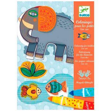 Набор для творчества DjecoНабор для творчества Djeco для малышей Зоопарк 08990<br>