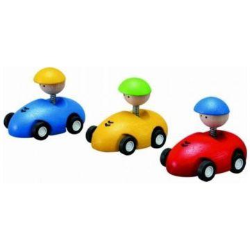 Игрушка деревянная Plan ToysИгрушка деревянная Plan Toys Гоночный автомобиль 4314<br>
