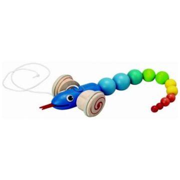 Игрушка каталка Plan ToysИгрушка каталка Plan Toys Змейка 5109<br>