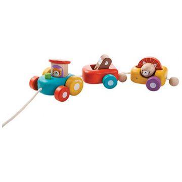 Игрушка деревянная Plan ToysИгрушка деревянная Plan Toys Веселый двигатель 5131<br>