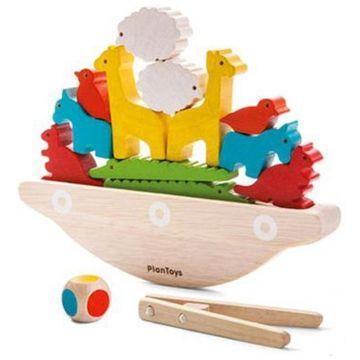Головоломка Plan ToysГоловоломка Plan Toys Балансирующая лодка 5136<br>