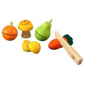Игровой набор Plan ToysИгровой набор Plan Toys Фруктов и овощей 5337<br>