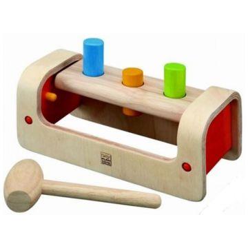 Игрушка деревянная Plan ToysИгрушка деревянная Plan Toys Забивалка 5350<br>