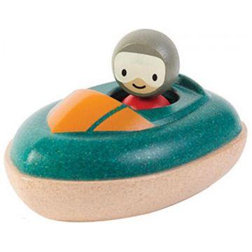 Игрушка деревянная Plan Toys Скоростная лодка 5667