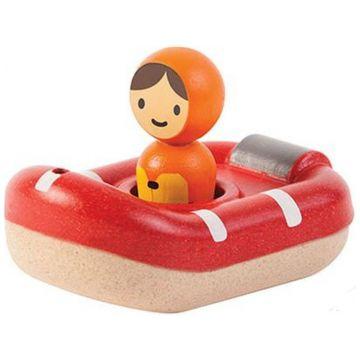 Игрушка деревянная Plan Toys Катер береговой охраны 5668