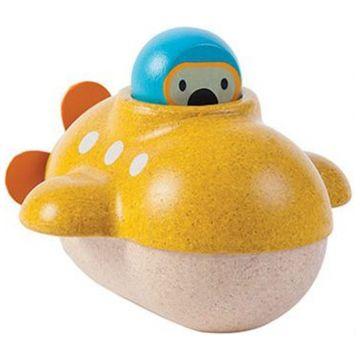 Игрушка деревянная Plan Toys Подводная лодка 5669