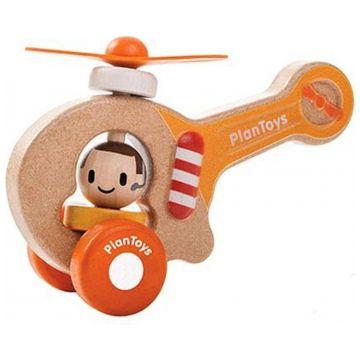 Игрушка деревянная Plan ToysИгрушка деревянная Plan Toys Вертолет 5685<br>