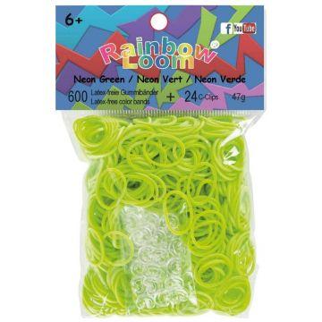 Резинки Rainbow loomРезинки Rainbow loom Неоновый Зелёный B0019<br>