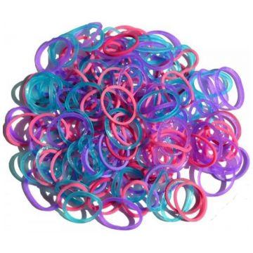 Резинки силиконовые Rainbow loomРезинки силиконовые Rainbow loom Мармелад Микс B0068<br>