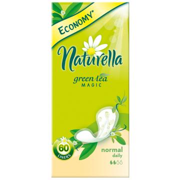 Прокладки женские гигиенические NaturellaПрокладки женские гигиенические Naturella  Green Tea Magic Normal Trio на каждый день  60 шт, в упаковке 60 шт.<br><br>Штук в упаковке: 60