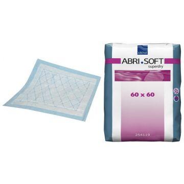 Пеленки Abri-SoftПеленки Abri-Soft впитывающие Superdry 60x60 см 60 шт, в упаковке 60 шт.<br><br>Штук в упаковке: 60