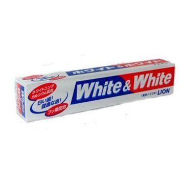 Зубная паста LionЗубная паста Lion White and White горизонтальная туба 150 г, объем, 150л.<br><br>Объем, л.: 150