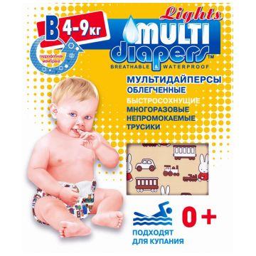 Трусики для плавания Multi-DiapersТрусики для плавания Multi-Diapers размер M (4-9 кг) (быстросохнущие), размер M<br><br>Размер: M