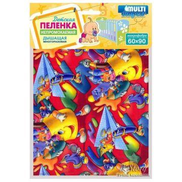 Пелёнка Multi-DiapersПелёнка Multi-Diapers непромокаемая из микрофибры 60х90 см рисунком<br>