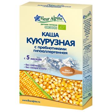 Каша Fleur AlpineКаша Fleur Alpine кукурузная Органик гипоаллергенная с 5 мес. 175 г, возраст 2 ступень (3-6 мес). Проконсультируйтесь со специалистом. Для детей с 5 мес.<br><br>Возраст: 2 ступень (3-6 мес)