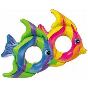 Надувной круг Intex Тропические рыбки 2 цвета 59219