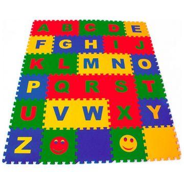 Коврик-пазл детский Тойс ЛэндКоврик-пазл детский Тойс Лэнд Английский Алфавит 25*25 25МПД2/A<br>
