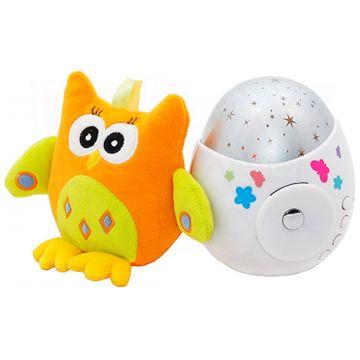 Проектор звездного неба Roxy-KidsПроектор звездного неба Roxy-Kids Colibri с совой, возраст с 0 мес.<br><br>Возраст: с 0 мес.