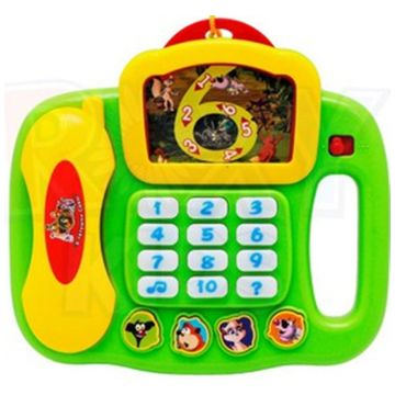 Игрушка Roxy-KidsИгрушка Roxy-Kids умный телефон Уроки тетушки Совы<br>