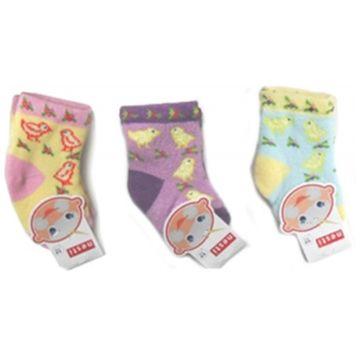 Носки махровые для девочки ПапиттоНоски махровые для девочки Папитто 0-6 мес. 400755, возраст 0-6 мес.<br><br>Возраст: 0-6 мес.
