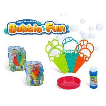 Набор для пускания мыльных пузырей Bubble FunНабор для пускания мыльных пузырей Bubble Fun с формочками<br>