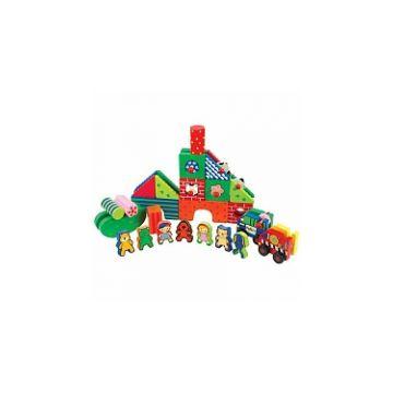 Игровой набор K`s KidsИгровой набор Ks Kids Kidiwood Детский город KW18102, возраст от 2 лет<br><br>Возраст: от 2 лет
