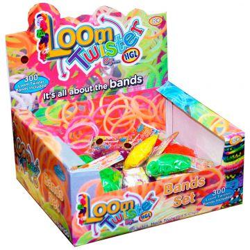Игровой набор для плетения фенечек Loom TwisterИгровой набор для плетения фенечек Loom Twister цветных ароматизированных резинок, возраст с 8 лет<br><br>Возраст: с 8 лет