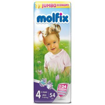 Подгузники Molfix Maxi Plus (9-20/9-16 кг) 54 шт