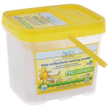 Стиральный порошок BabylineСтиральный порошок Babyline Детский на основе натуральных ингрeдиентов 15 кг<br>