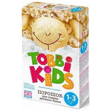 Стиральный порошок Tobbi KidsСтиральный порошок Tobbi Kids с 1-3 года 400 гр<br>