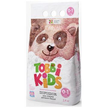 Стиральный порошок Tobbi KidsСтиральный порошок Tobbi Kids с 0-12 мес. 2400 гр<br>