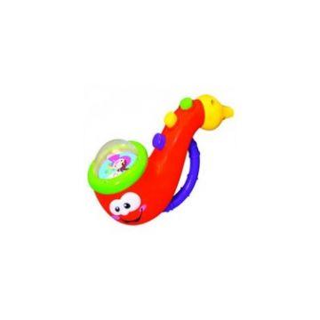 Развивающая игрушка KiddielandРазвивающая игрушка Kiddieland Саксафон 2 в 1 , возраст от 12 мес<br><br>Возраст: от 12 мес