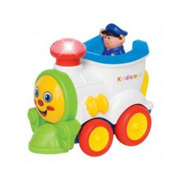 Развивающая игрушка KiddielandРазвивающая игрушка Kiddieland Забавный паровозик , возраст от 1 года<br><br>Возраст: от 1 года